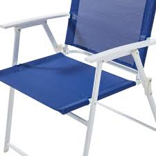 Outdoor Sling Chairs Mainstays Pleasant Grove Sling Folding Chair Set Of 2 Walmart Com