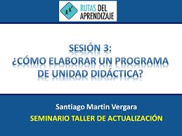 unidades y sesiones de aprendizaje comunicacion minedu rutas santiago martin vergara seminario taller de actualización ppt