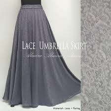 rok panjang muslim jual rok panjang muslimah modern murah lace umbrella skirt di