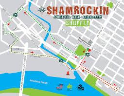 Toledo Ohio Map Shamrockin U0027 Toledo At The Blarney Shuffle U2014 St Paddy U0027s