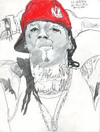 lilwayne drawing