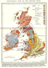 Map Of England And France by Geology Of Great Britain Introduction And Maps By Ian West