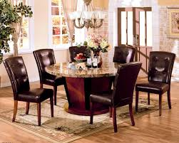 apartments exciting top fancy round marble dining table set home