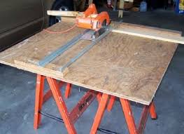 convert circular saw to table saw get more from your circular saw