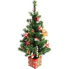 xmas tree on table miniature christmas tree decorations amodiosflowershop com