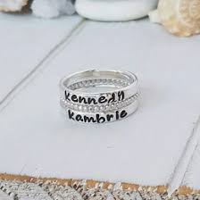 personalized stackable rings stackable ring ideas collections
