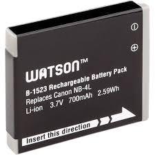 watson nb 4l lithium ion battery pack 3 7v 700mah b 1523 b u0026h
