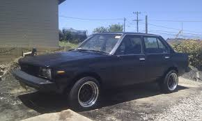 syd nsw 1983 toyota corolla ke70 front front with rego