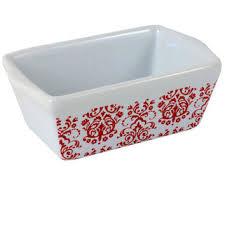 celebrate it ceramic mini loaf pan from