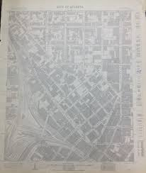 Atlanta Street Map The Manuscript Archives U0026 Rare Book Library History Atlanta