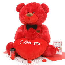 valentines day teddy bears adorable s day teddy bears 2 6ft