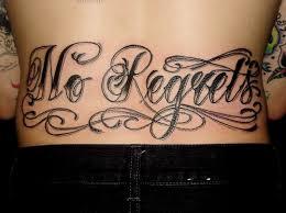 43 best back tattoo lettering images on pinterest lettering
