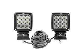 4 inch round led lights 4 inch square cree led lights 70905 rough country suspension