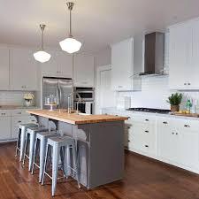 small kitchen butcher block island gray kitchen island with butcher block top transitional kitchen