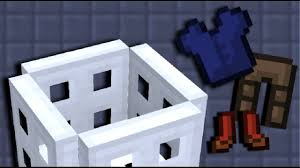 Make A Laundry Hamper by Lets Build A Laundry Basket In Minecraft Pocket Edition Youtube