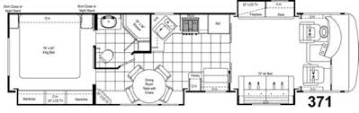 class a rv floor plans damon motor coach new gas class a motorhome floorplans