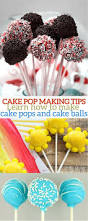 cake pop tips how to make cake pops brownie pops and cake balls