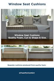 Sofa Foam Cut To Size 15 Best Window Seat Images On Pinterest Bay Windows Bench