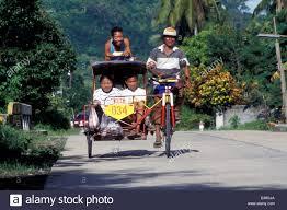 philippines pedicab pedicab leyte philippines stock photo royalty free image