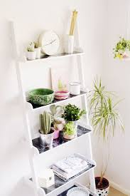 Free Standing Ladder Shelf Plans by Best 25 Leaning Ladder Shelf Ideas On Pinterest Leaning Shelves