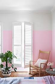 White Black And Pink Bedroom Two Color Wall Painting Ideas For Beautiful Bedroom Decorating