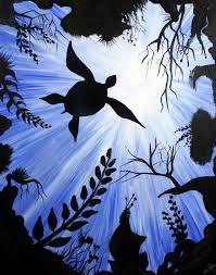 sea turtle acrylic beginners painting painting ideas pinterest