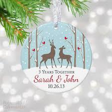 Anniversary Christmas Ornament Anniversary Gifts U2013 Personalized Gift Market