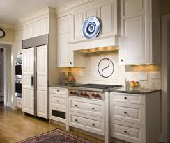 under cabinet vent hood kitchen traditional with white kitchen