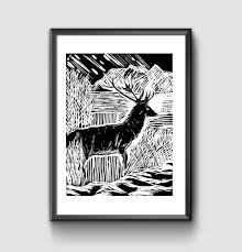 hedge and hog prints