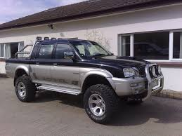mitsubishi warrior l200 mitsubishi l200 turbo diesel dream trucks pinterest diesel