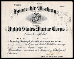 honorable discharge certificate max peck