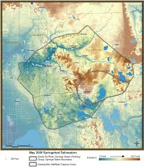 Map Of Springs In Florida Maps Our Santa Fe River Inc