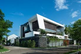 hs architects designs a contemporary home in jakarta