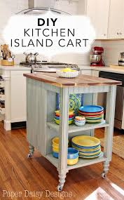 diy kitchen island cart kitchen island cart island cart and