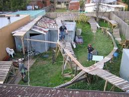 Dirt Backyard Ideas The Backyard Pump Track Mtbr Com Totally Need This In Your Back