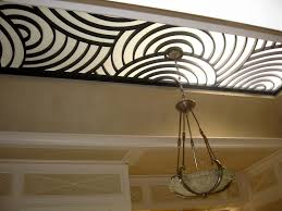Skylight Design by Handmade Custom Wrought Iron Skylight Grill By Cranford Collection