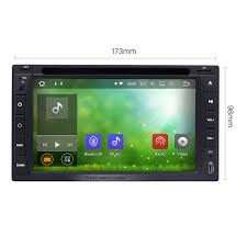 inch 173 98 2 din universal radio android 7 1 gps navigation dvd