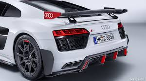 Audi R8 Grey - 2018 audi r8 performance parts color suzuka grey rear bumper
