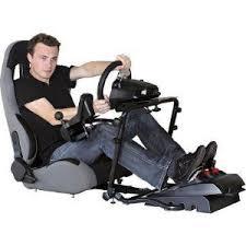 siege pour ps3 bigben siège baquet avec support volant levier de