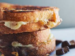 grilled fontina mushroom and sage sandwiches recipe quick from