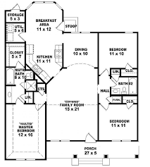 floor plans 3 bedroom 2 bath 654069 one 3 bedroom 2 bath ranch style house plan