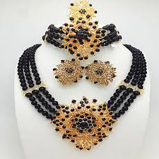 fashion necklace set images New wedding african jewelry sets for women fashion jewelry 2018 jpg