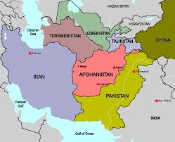 where is on the map where is afghanistan map