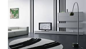 simple living room with wall cabinet 3d living room interior tv