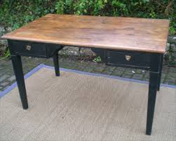 bureau bois noir bureau noir et bois meuble d angle pour ordinateur eyebuy