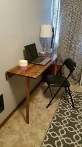 folding desks for small spaces forget ikea build your own folding desk desks note and walls
