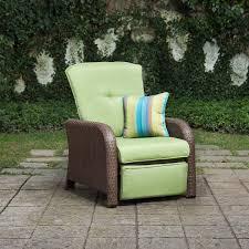 Lazy Boy Wicker Patio Furniture - sawyer patio recliner cilantro green u2013 la z boy outdoor