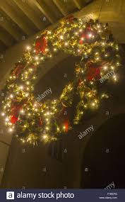 wreath lights battery lighted door wreaths