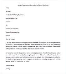 employee reference letters reference letter for teacher 8