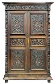 french renaissance style carved oak armoire for sale at 1stdibs